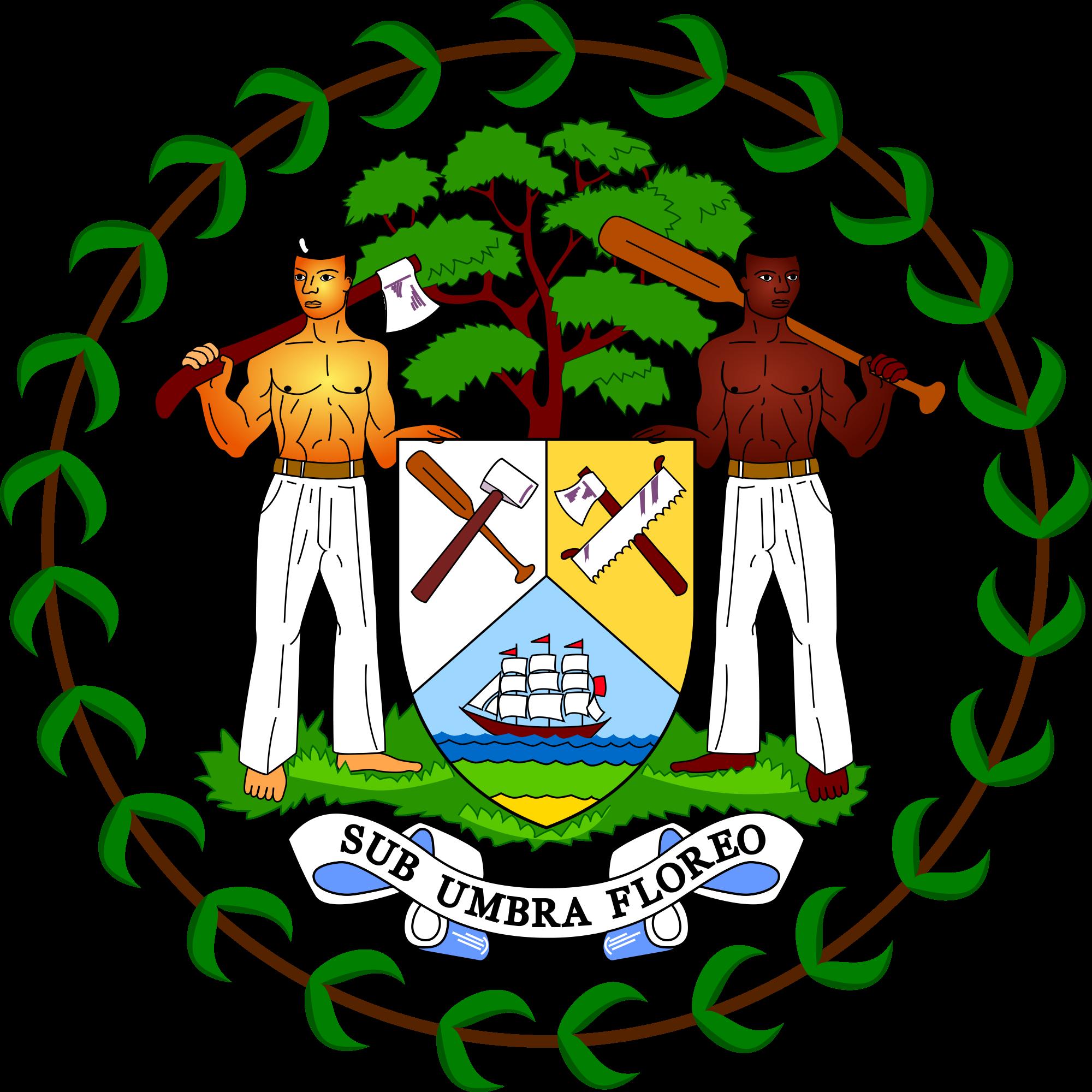 Герб на Белиз