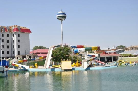 Waterparken in Samarkand