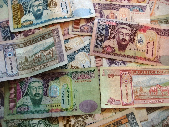 Valuta in Mongolië