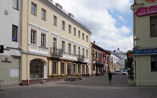 Straten van Minsk