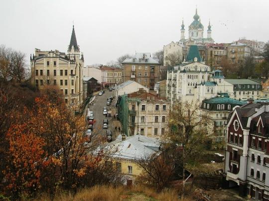 شوارع كييف