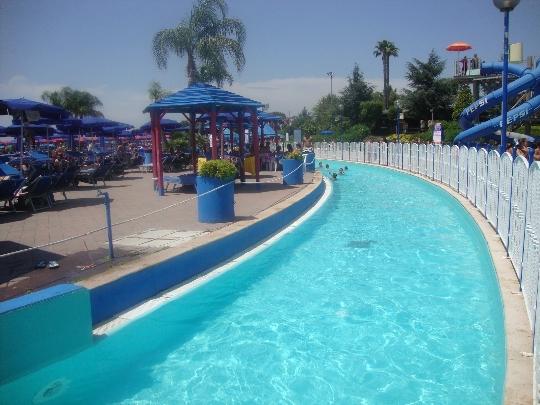 Waterparken in Napels