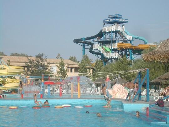 Vesipuistot Korfussa