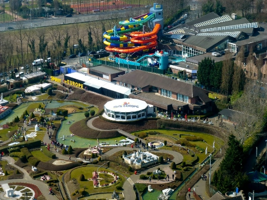 Waterparken in Brussel