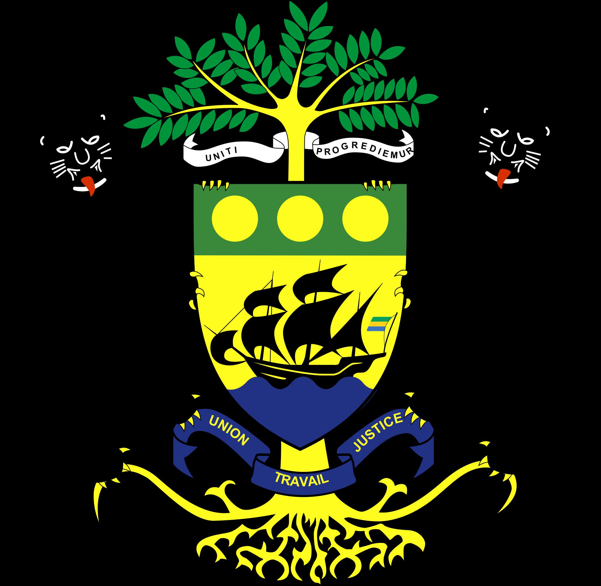Герб на Габон
