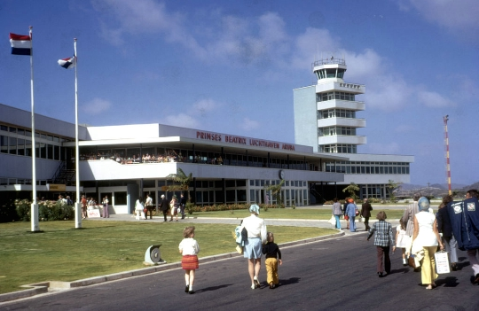 Luchthavens in Aruba
