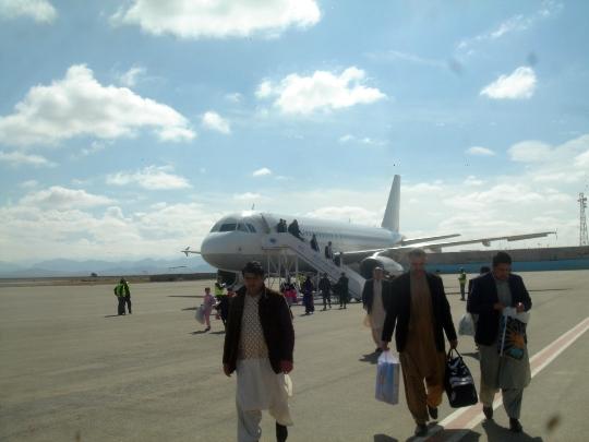 Afganistanin lentokentät