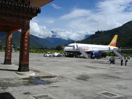 Bhutan lentokentät