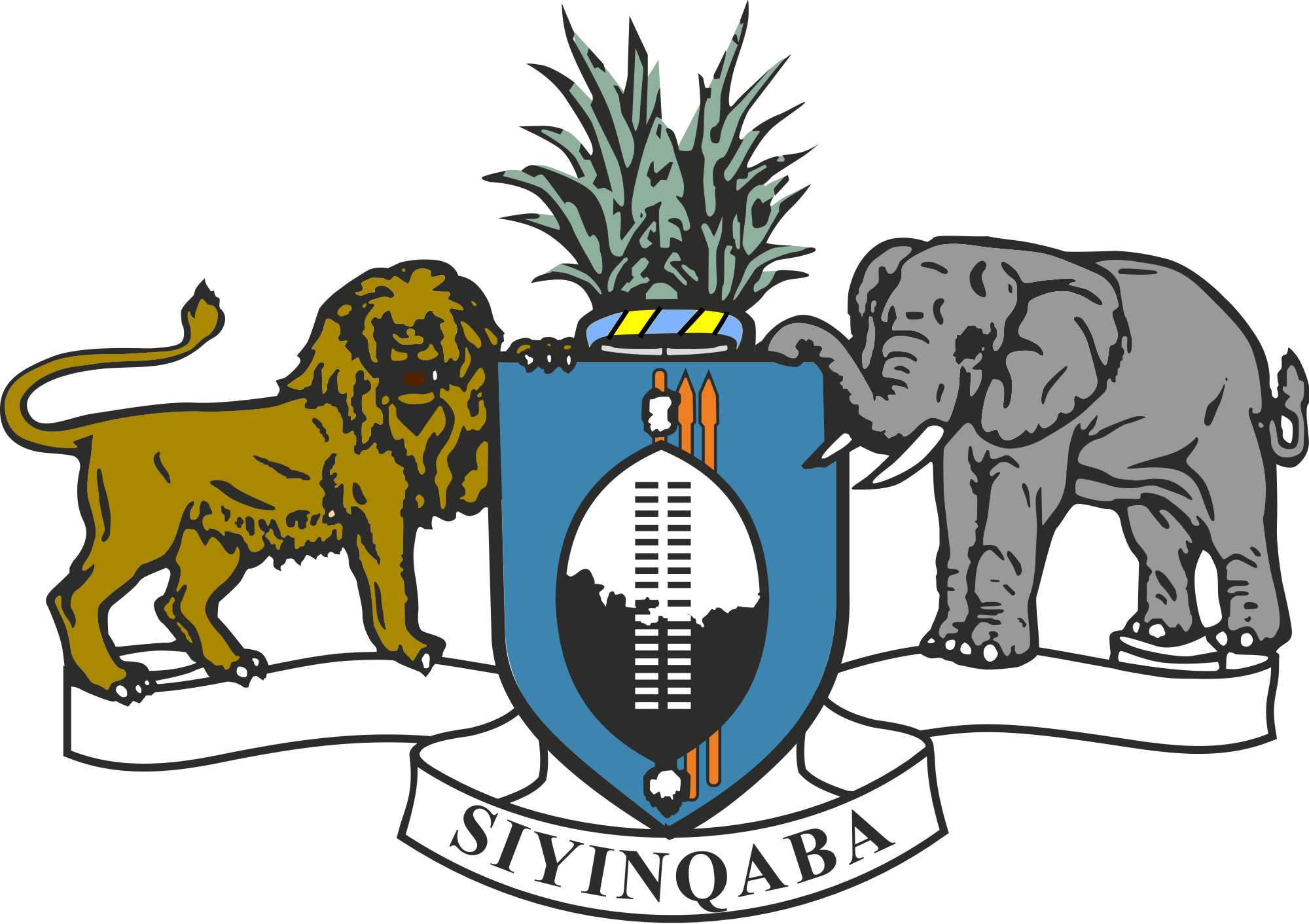 Wapenschild van Swaziland