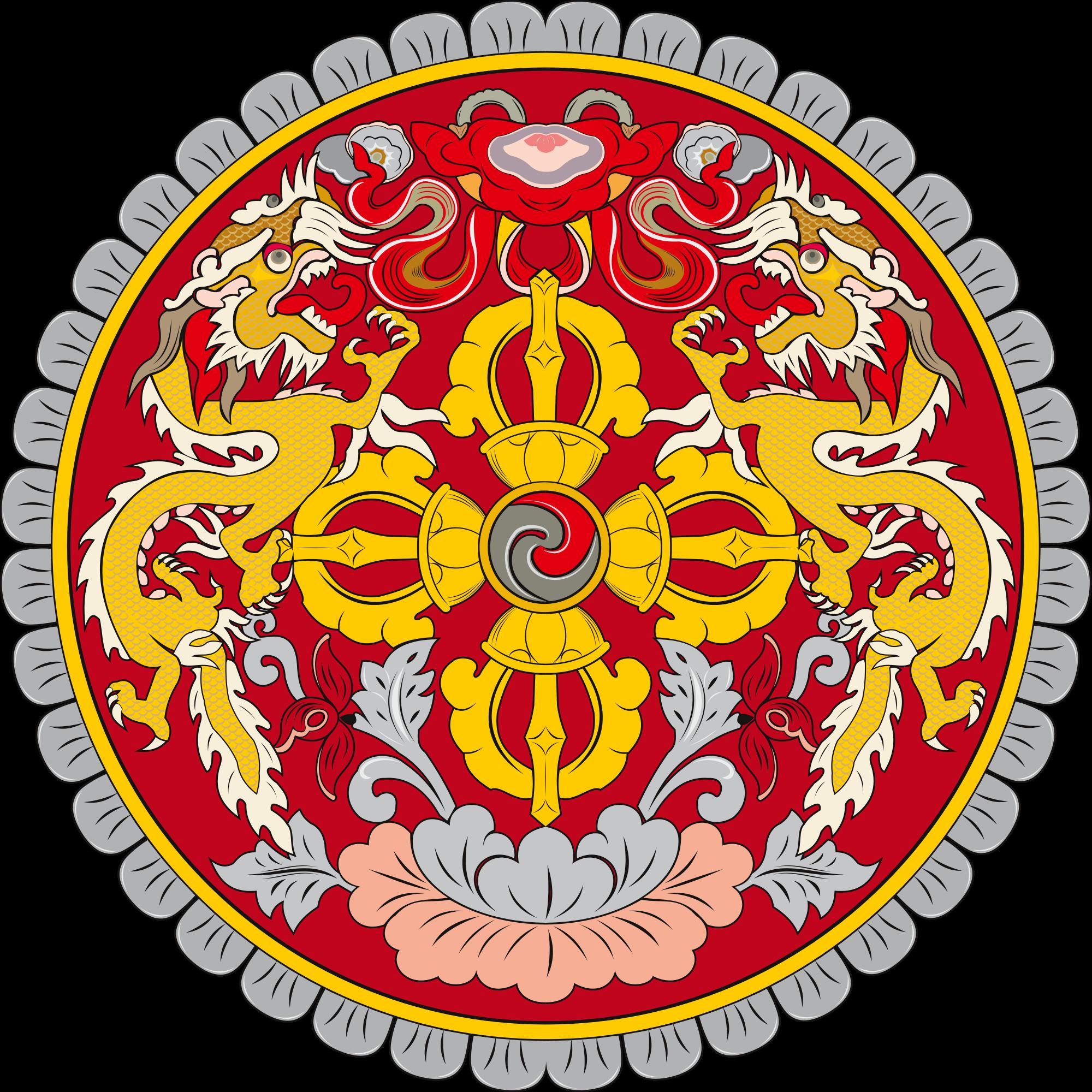 Bhutanin vaakuna