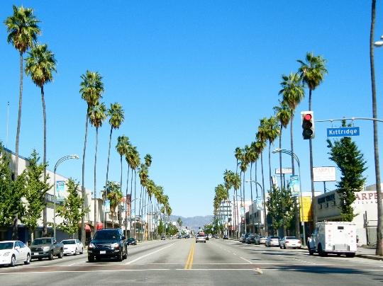 شوارع لوس انجليس