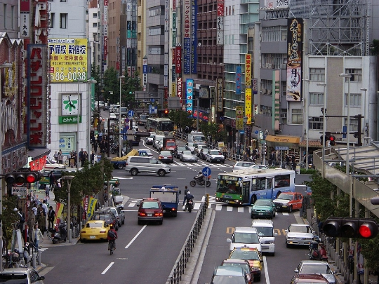 Straten van Tokio