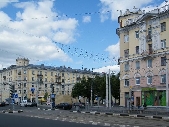 Улиците на Витебск