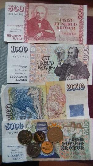Valuta in IJsland