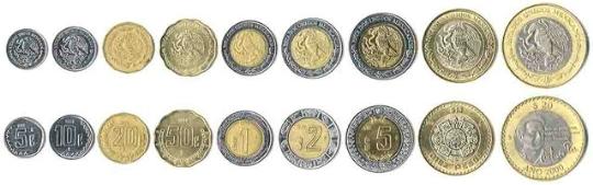 Valuta in Mexico