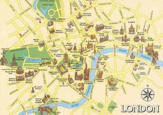 Lontoon alueet