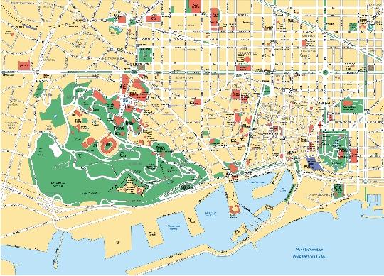 Barcelona wijken