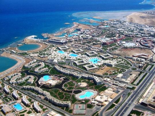 Hurghada-gebieden