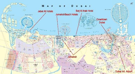 مناطق دبي