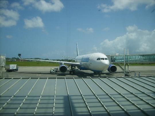 Vliegvelden in Guadeloupe