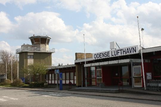 Deense luchthavens