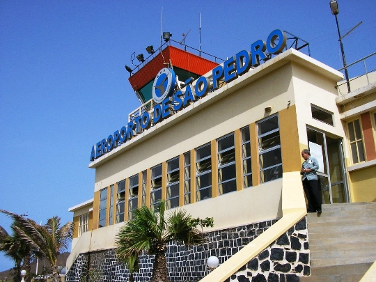 Kap Verden lentokentät