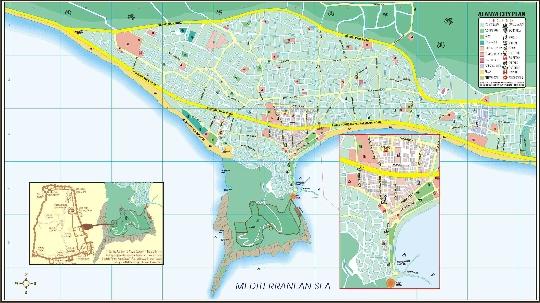 Alanya gebieden