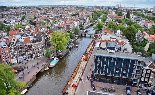 Amsterdamin alueet