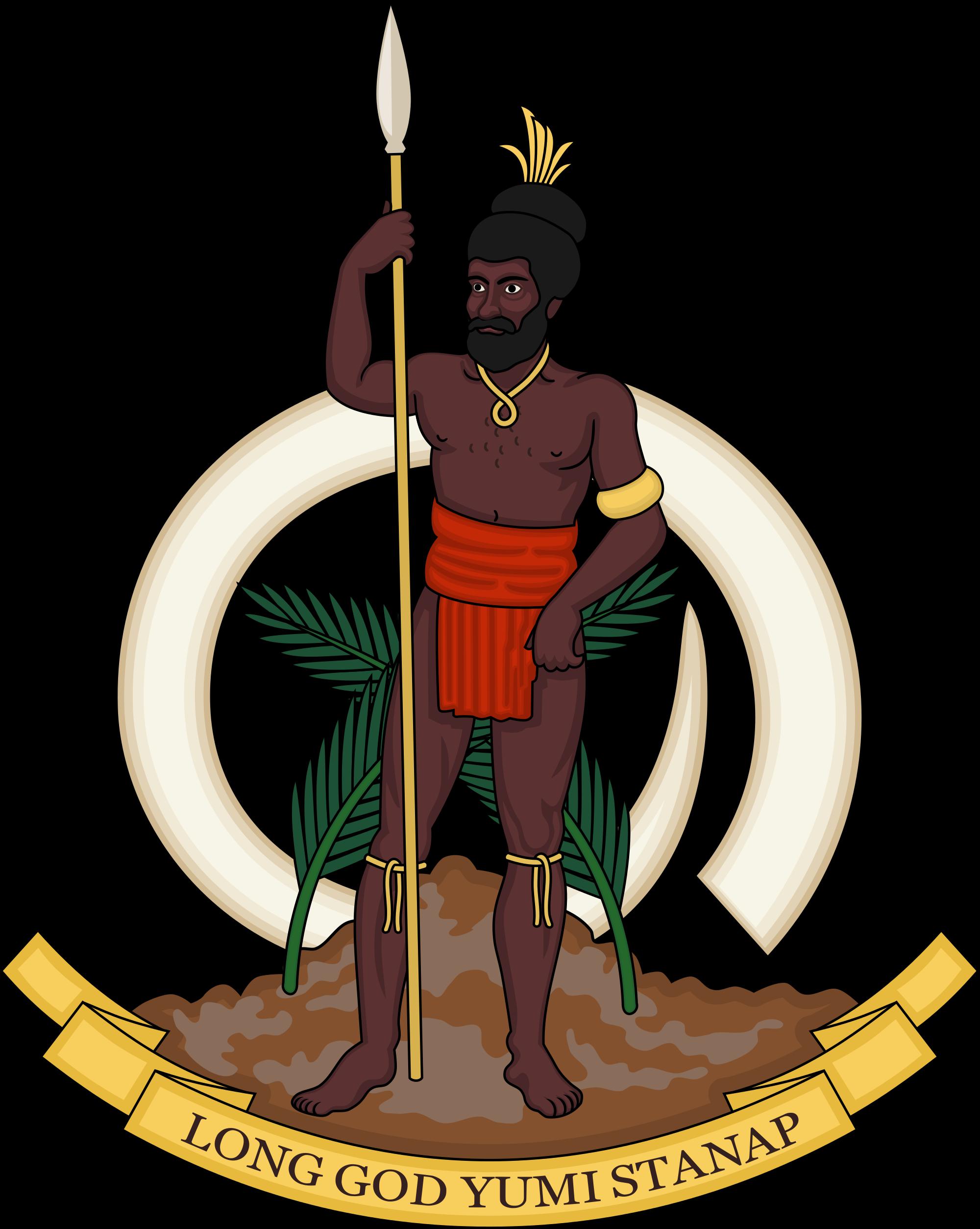 Wapenschild van Vanuatu