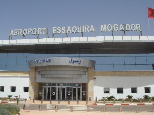 Luchthavens in Marokko