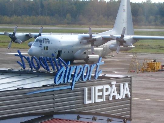 Latvian lentokentät