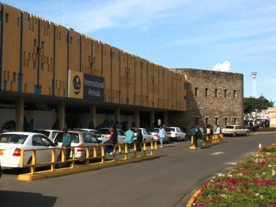 Kenian lentokentät