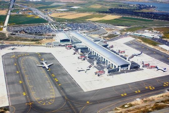 Kyproksen lentokentät