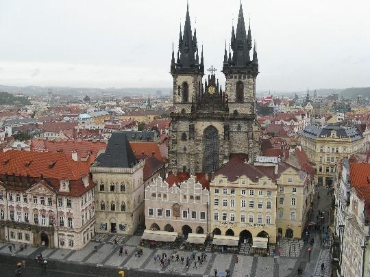 Praha - Tšekin tasavallan pääkaupunki