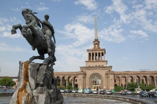 Yerevan is de hoofdstad van Armenië
