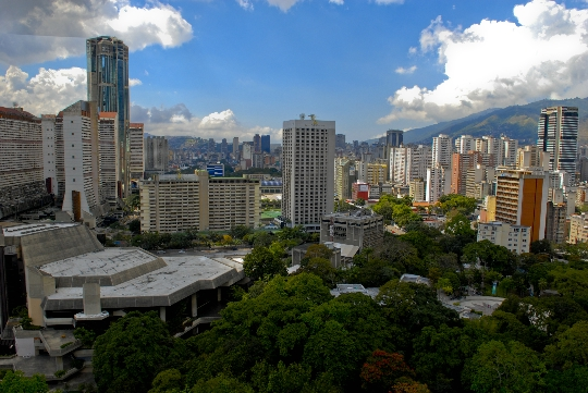 Каракас - столицата на Венецуела