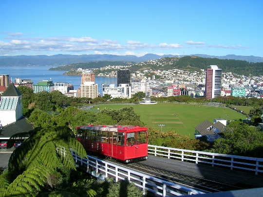 Wellington - Uuden-Seelannin pääkaupunki