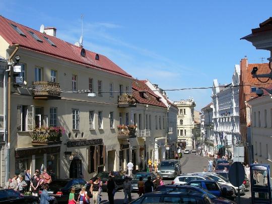 Straten van Vilnius