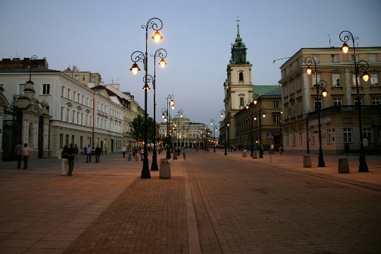 Straten van Warschau