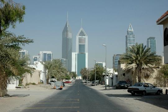 Dubai straten