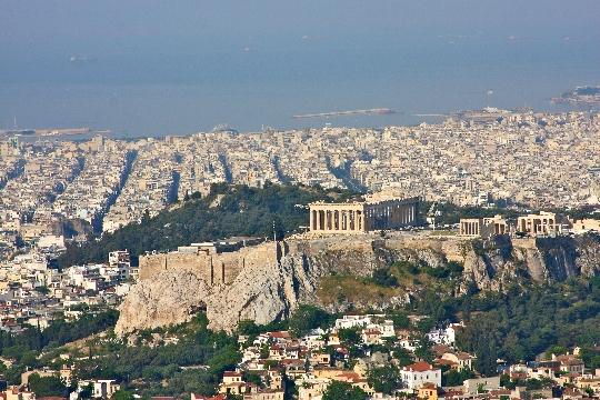 Athene gebieden