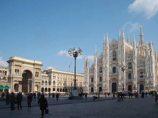 Gebieden van Milaan