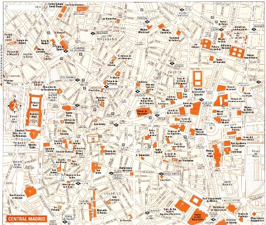 Gebieden van Madrid