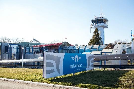 Romania lentokentät
