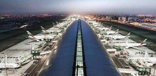 Luchthavens in de VAE