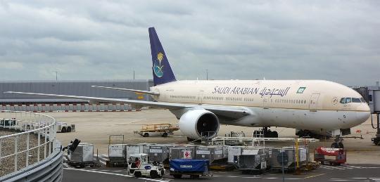 Saudi-Arabian lentokentät