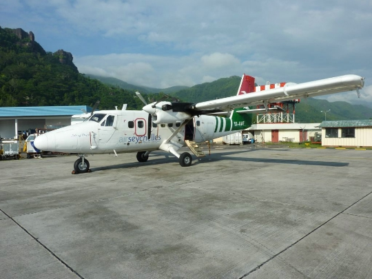 Vliegvelden op de Seychellen