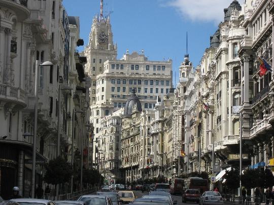 Madridin kadut