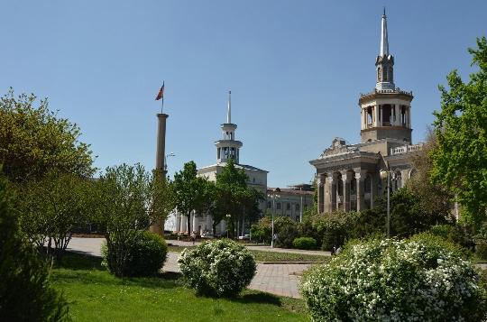 Biškekin kadut