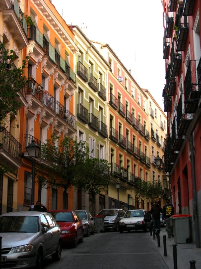 Улици на Мадрид